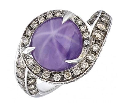 Loud Love Jewelry diamond ring in blackened gold
