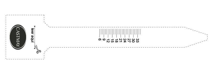 Castmay size gauge