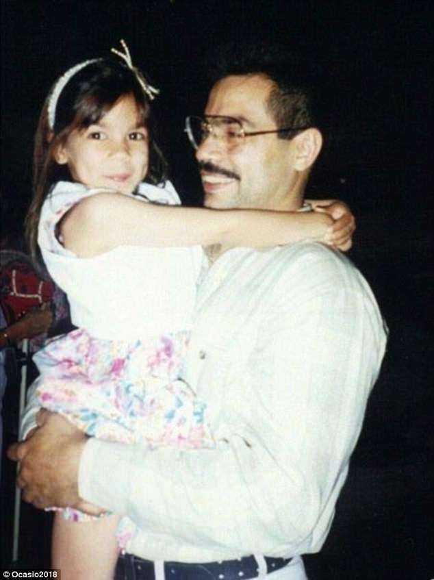 Sergio Ocasio with his daughter
